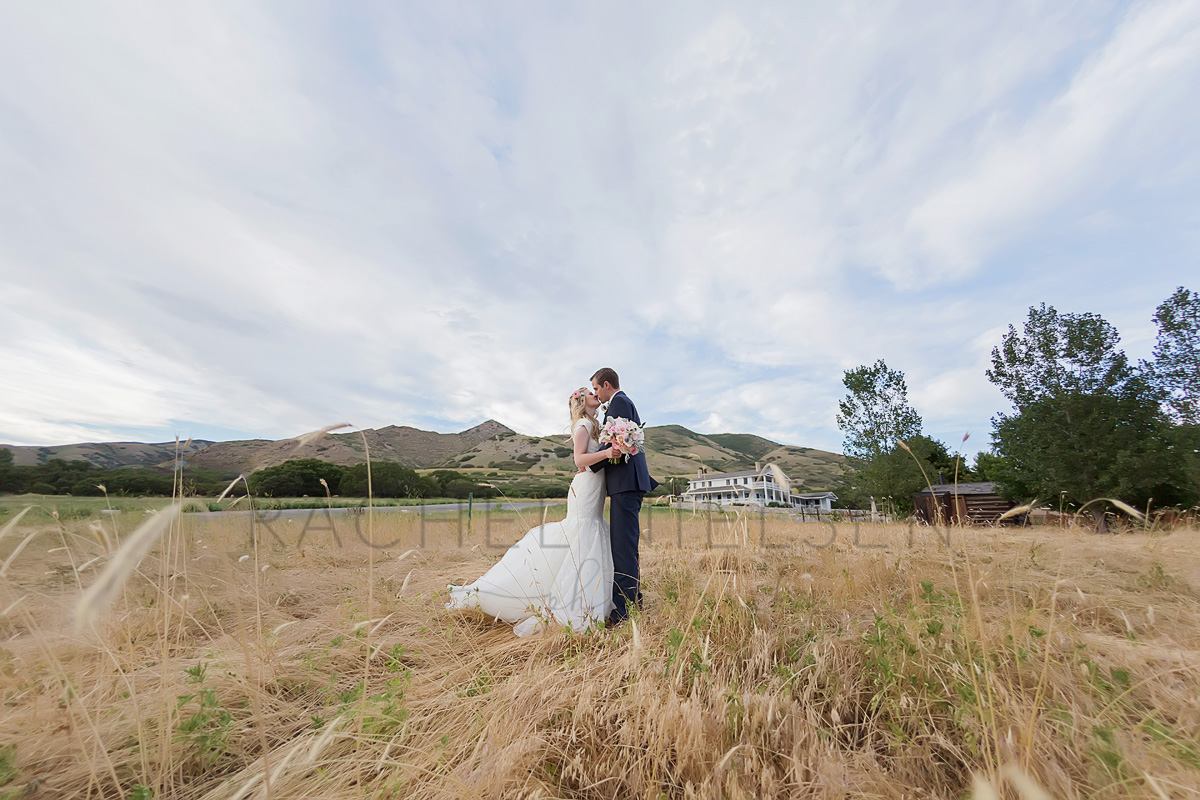 This is the place park bride and groom session by Rachel Nielsen