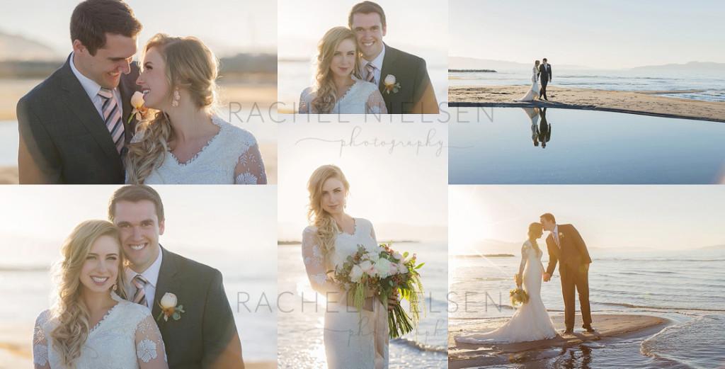 bride and groom utah images