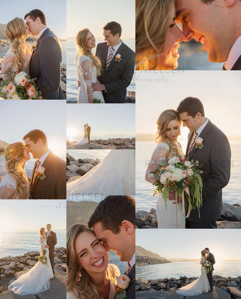 phillip and paris bride and groom photos