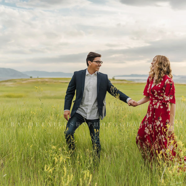 Mountain Engagement Session - Sebastian and Mariah