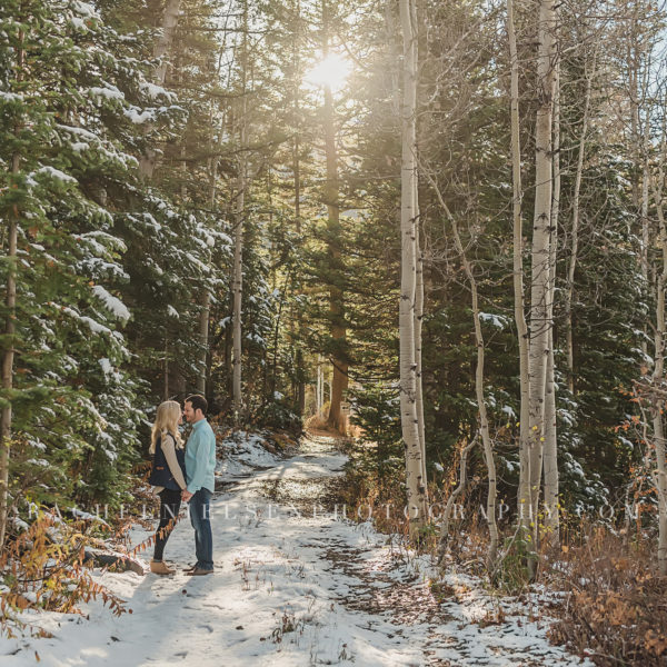 Cam and Kelsee - Fall Mountain Engagement Session