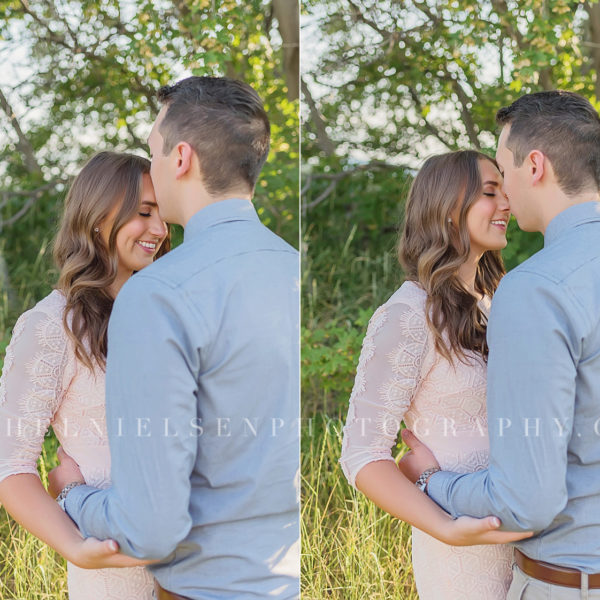 Kyle and Nicole | Mountain and GSL engagement session