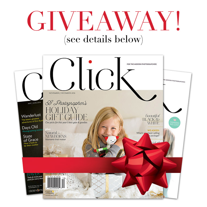Click Magazine giveaway