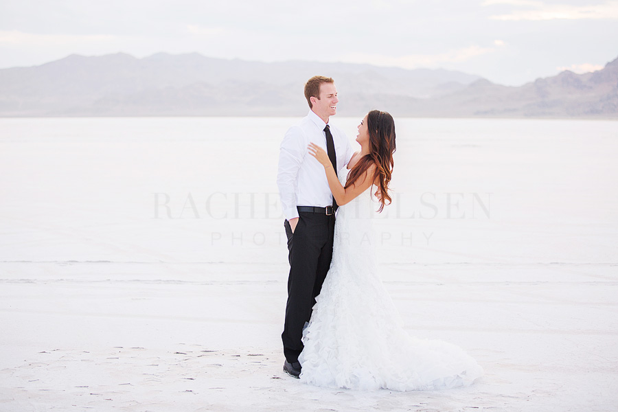 bride and groom session with Rachel Nielsen Photography