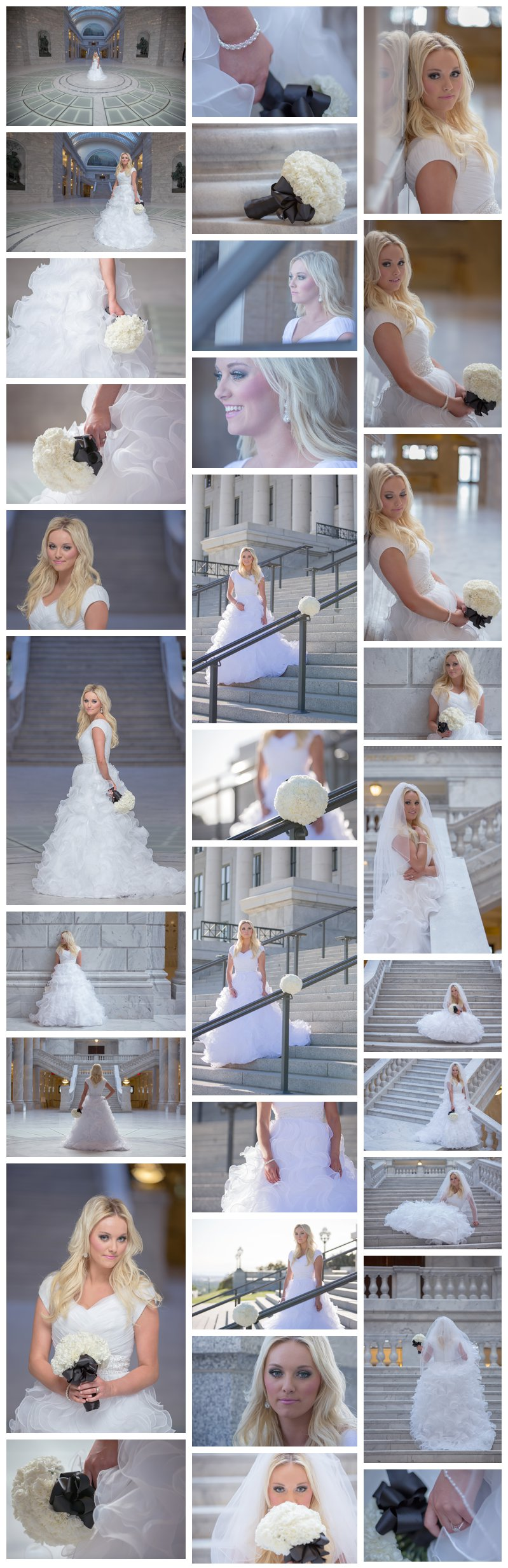 Utah wedding and bridal photographers