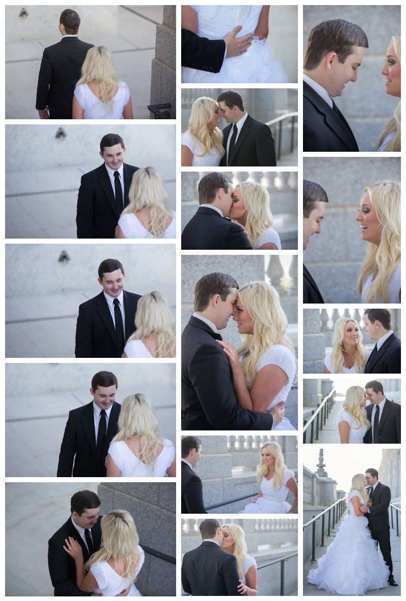 Brooke and David first look session part 2
