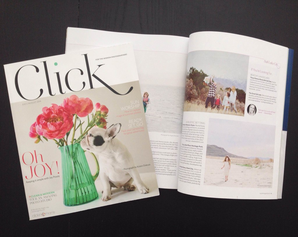 click magazine feature - rachel nielsen