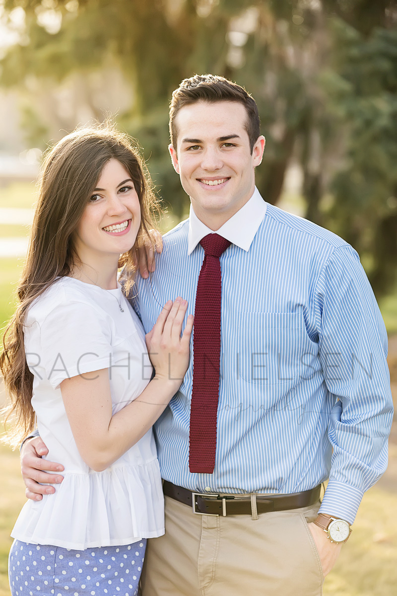 University of Utah engagement photo