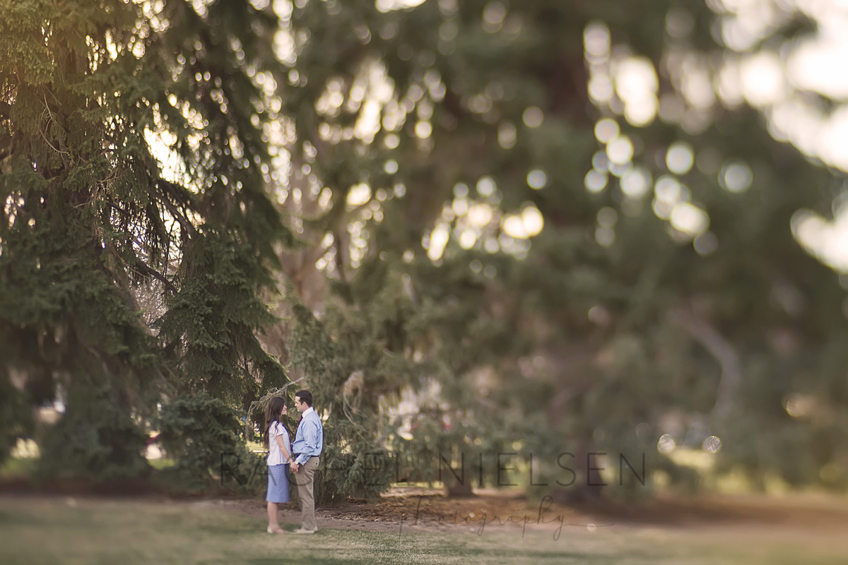 university of Utah engagement session