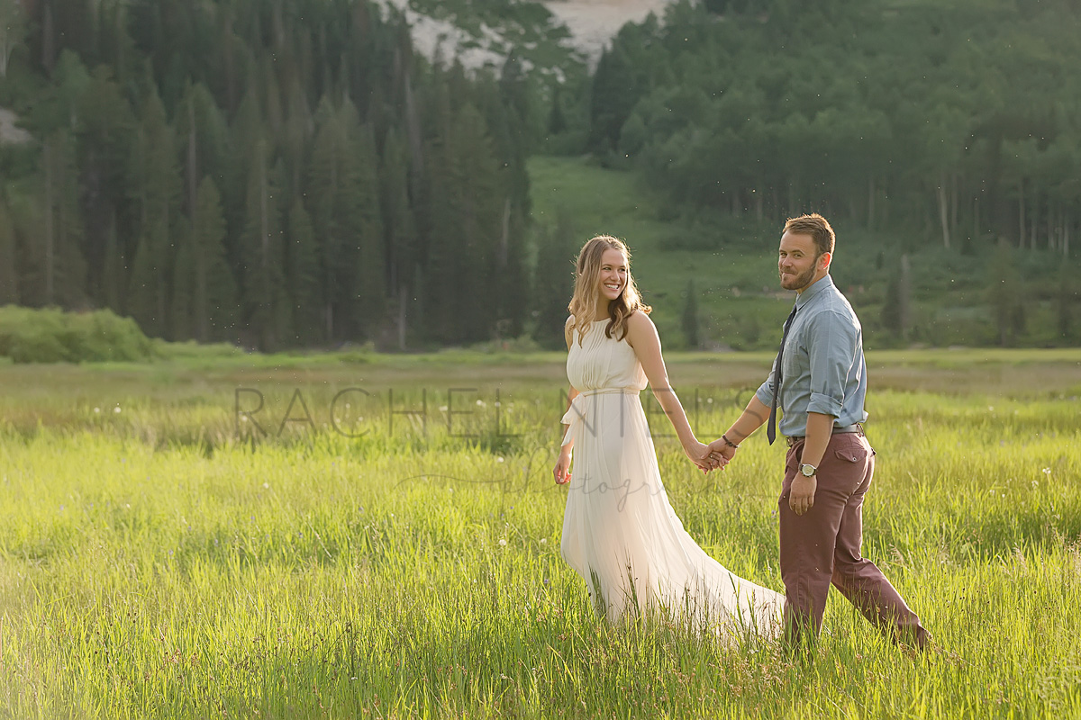 Utah engagement session