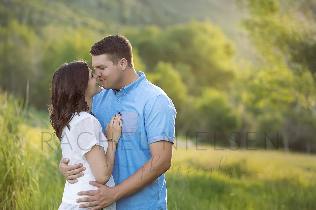 park city engagement session