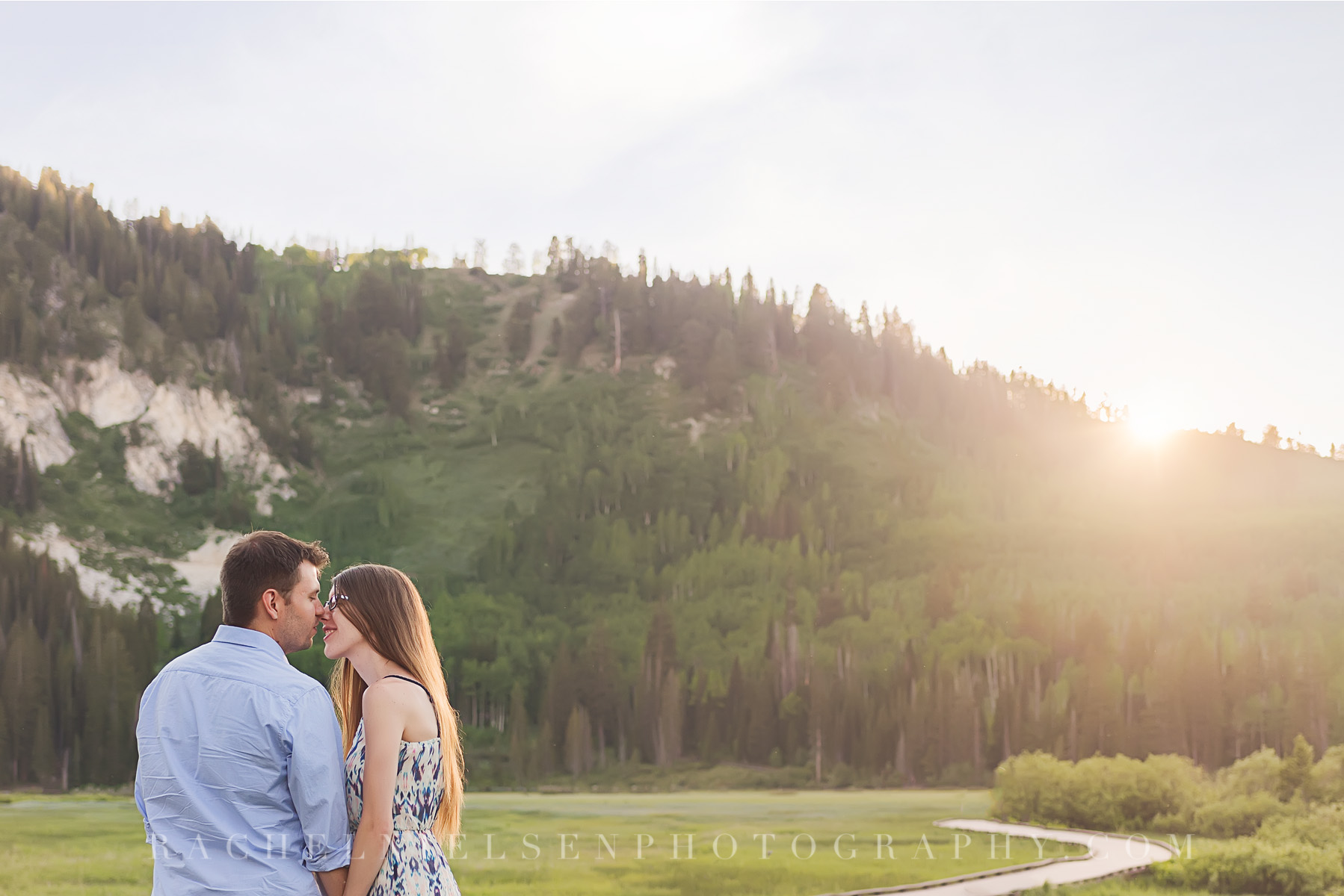 Silver Lake engagement photos