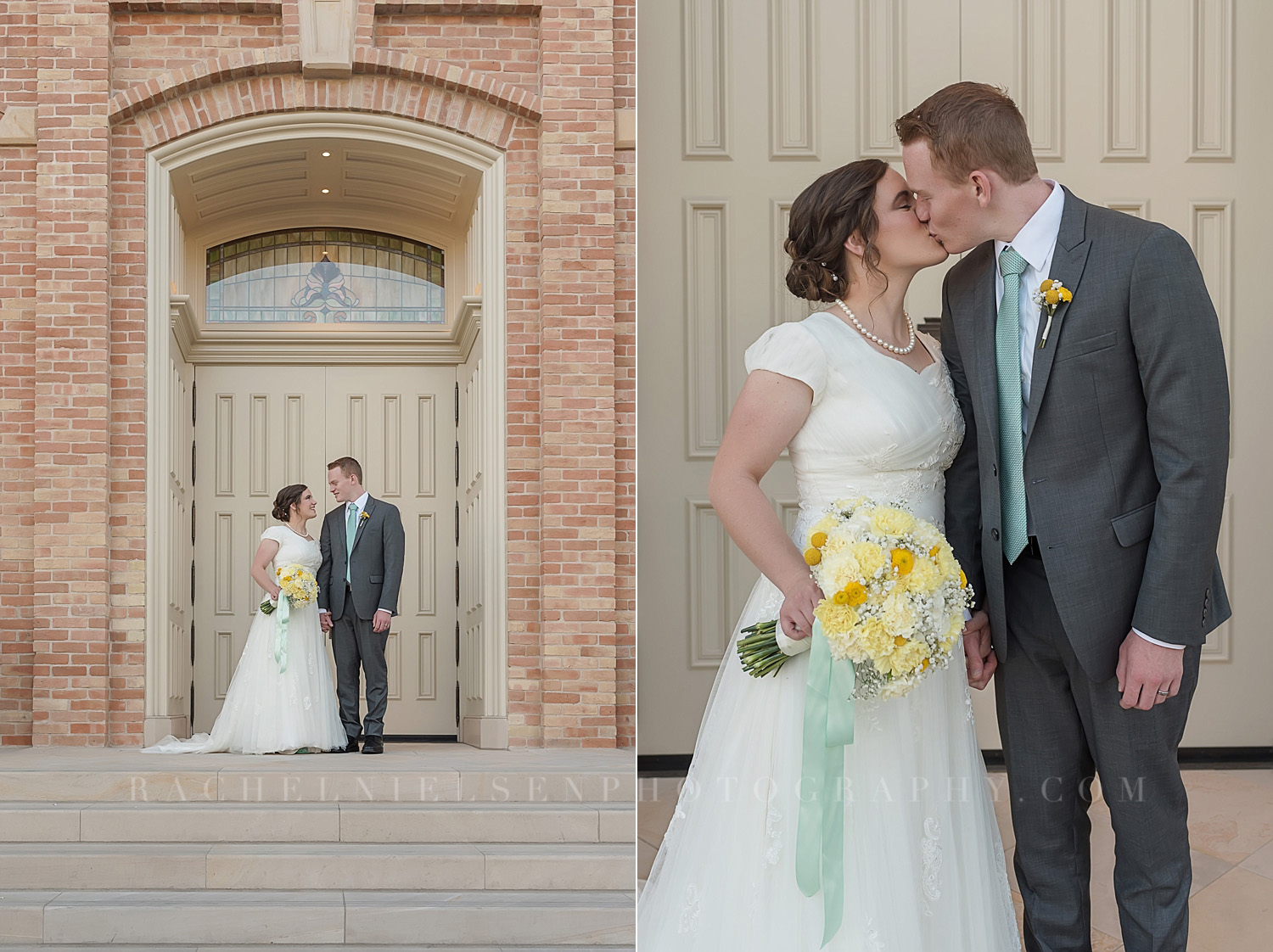 Provo City Center Temple Wedding 1