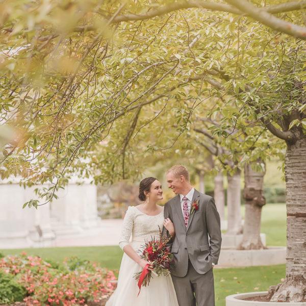 Jared and Katelyn wedding day sneak peek