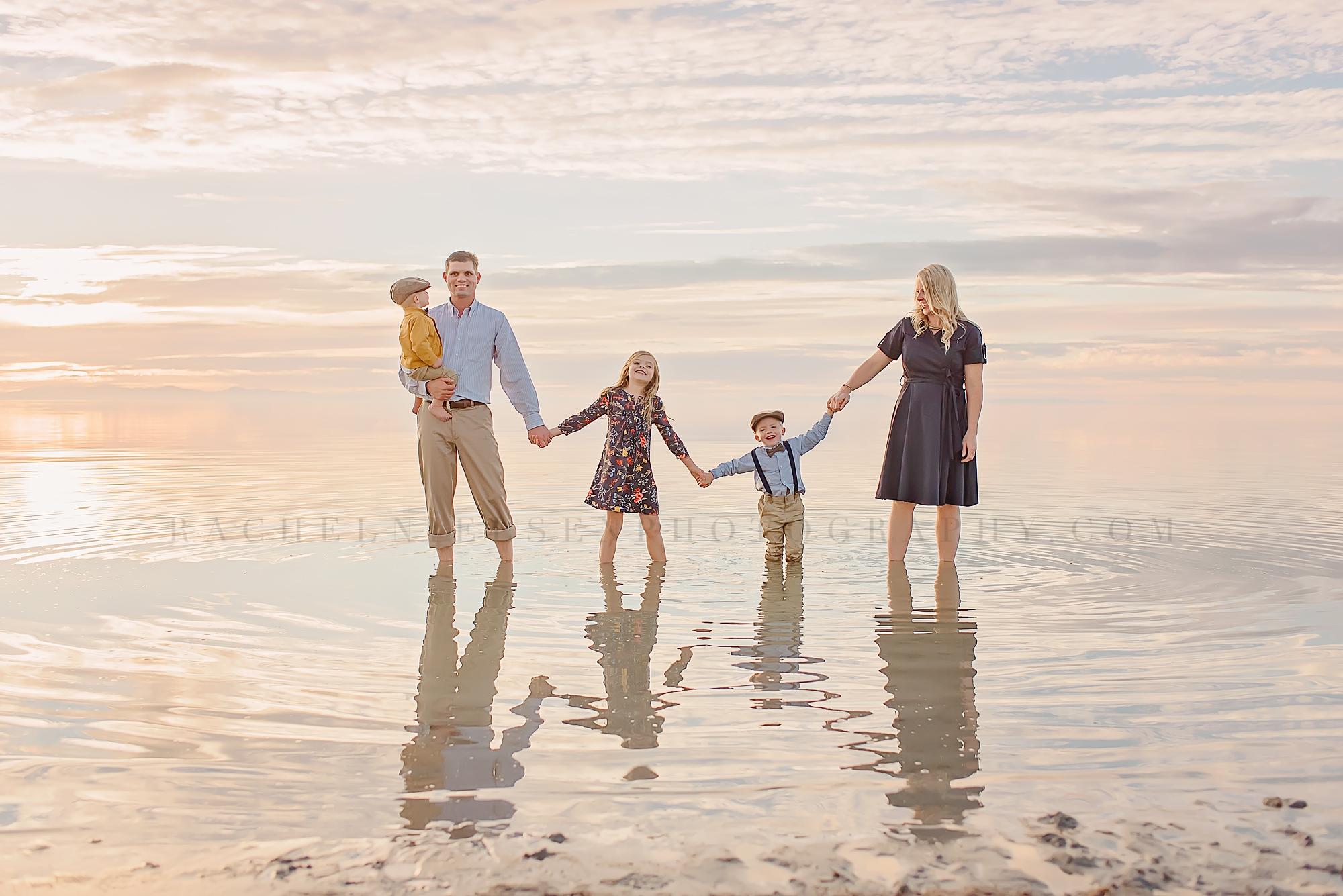 Antelope Island family portraits