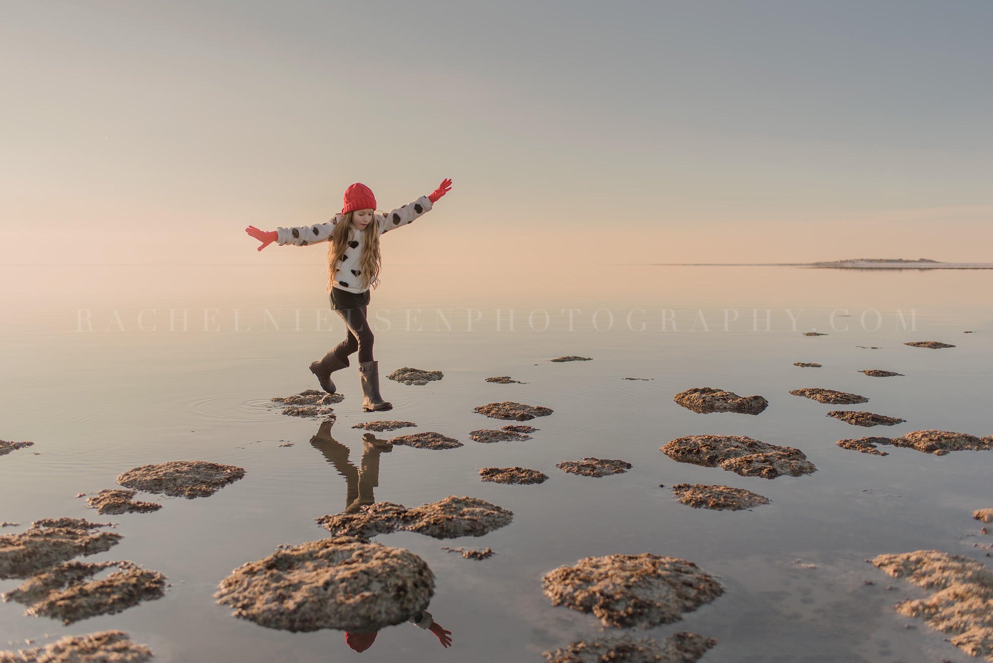Antelope Island child photography