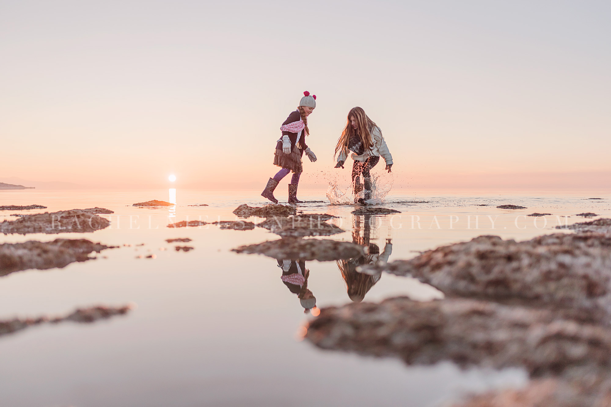 Great Salt Lake children photography