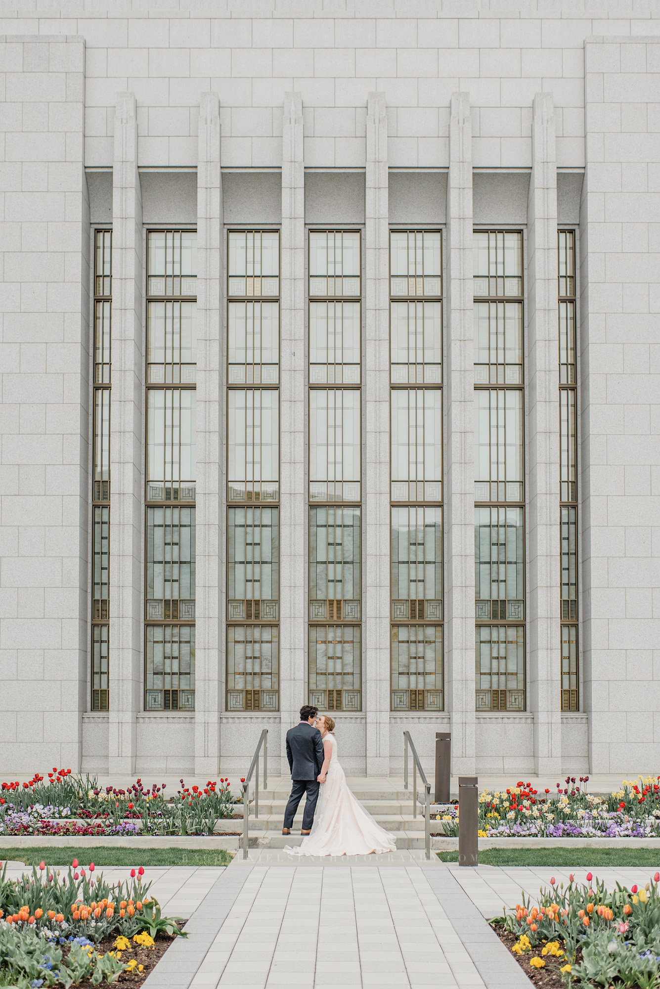 Draper Utah LDS temple wedding